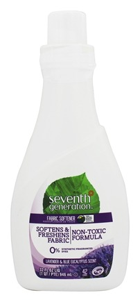 Seventh Generation - Natural Liquid Fabric Softener Blue Eucalyptus & Lavender - 32 oz.