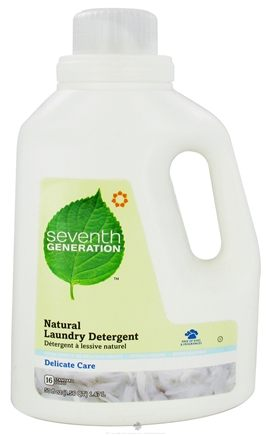 DROPPED: Seventh Generation - Delicate Care Laundry Detergent Free & Clear - 50 oz.