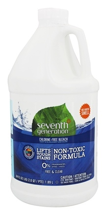 Seventh Generation - Chlorine-Free Bleach Free & Clear - 64 oz.