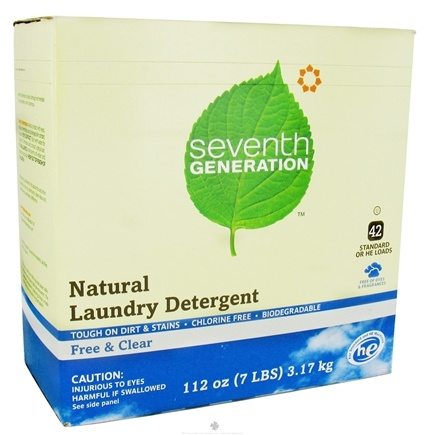 DROPPED: Seventh Generation - Ultra Laundry Powder Free & Clear - 112 oz.