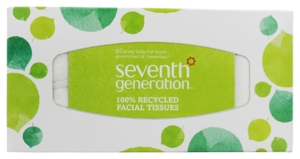 Seventh Generation - Facial Tissues 2-Ply Box - 175 Sheet(s)