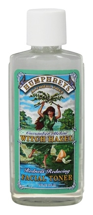 Humphreys - Witch Hazel Redness Reducing Toner Cucumber Melon - 2 oz.