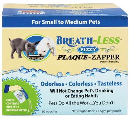 DROPPED: Ark Naturals - Breath-Less Fizzy Plaque-Zapper for Small to Medium Pets - 30 Packet(s)