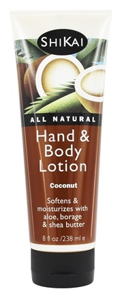 Shikai - Hand & Body Lotion Coconut - 8 oz.