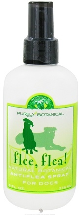 Zoom View - Purely Botanical Flee, Flea! Natural Anti-Flea Spray for Dogs