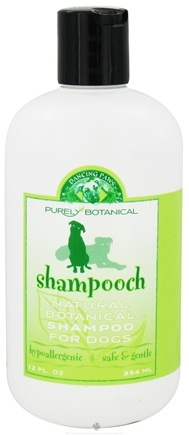 DROPPED: Dancing Paws - Purely Botanical Shampooch Natural Shampoo for Dogs - 12 oz. CLEARANCE PRICED