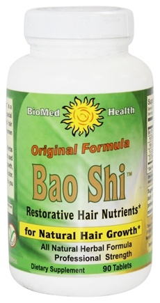 BioMed Health - Original Bao Shi Restorative Hair Nutrients - 90 Caplets