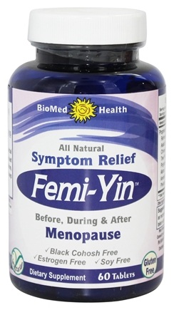 BioMed Health - Femi-Yin for Peri & Menopause Symptom Relief - 60 Caplets