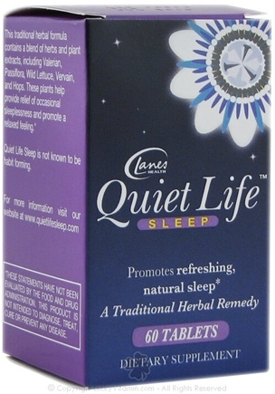 DROPPED: Lanes Health - Quiet Life Sleep - 60 Tablets