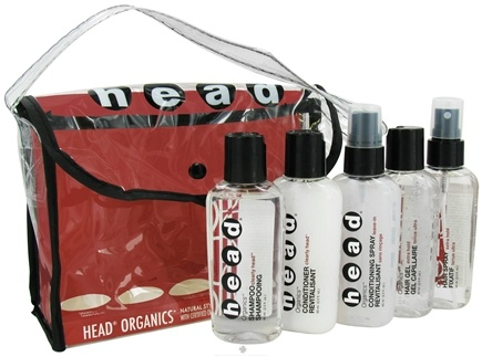 DROPPED: Head Organics - On the Move Hair Care Travel Kit - CLEARANCE PRICED