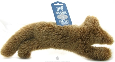 DROPPED: Castor & Pollux - Red Rover Dog Toy Plush Fox