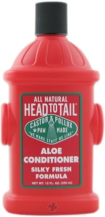 DROPPED: Castor & Pollux - Head To Tail All Natural Aloe Conditioner Silky Fresh Formula - 12 oz.