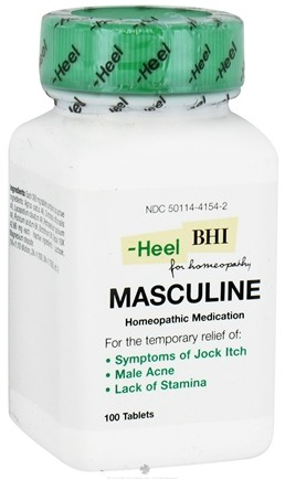 DROPPED: BHI/Heel - Masculine - 100 Tablets CLEARANCE PRICED
