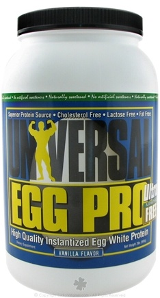 Zoom View - Nutrition Egg Pro Vanilla
