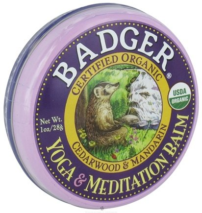 DROPPED: Badger - Yoga and Meditation Balm - 1 oz. CLEARANCE PRICED