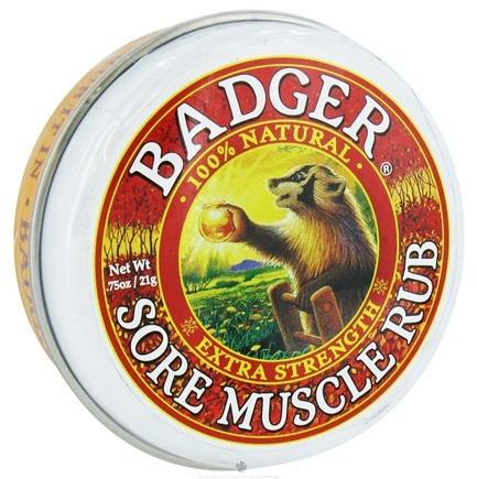 DROPPED: Badger - Sore Muscle Rub Extra Strength - 0.75 oz.