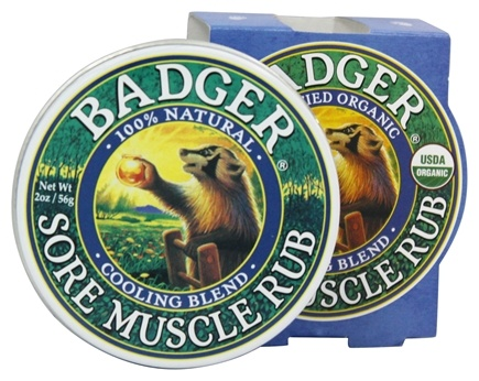 Badger - Sore Muscle Rub Cooling Blend - 2 oz.
