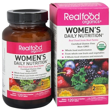 Zoom View - Real Food Organics Women's Daily Nutrition
