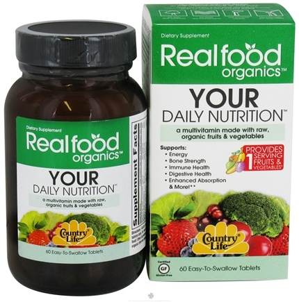 Zoom View - Real Food Organics Your Daily Nutrition