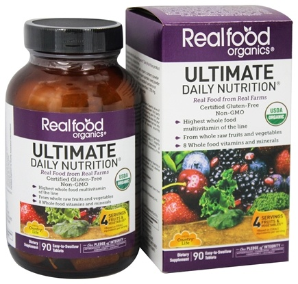 Zoom View - Real Food Organics Ultimate Daily Nutrition