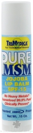 Zoom View - Pure MSM Lip Balm