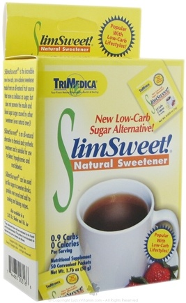DROPPED: Trimedica - SlimSweet Natural Sweetener - 50 Packet(s)