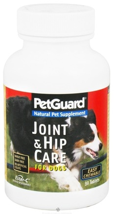 DROPPED: Pet Guard - Joint & Hip Care for Dogs with Ester C - 30 Tablets