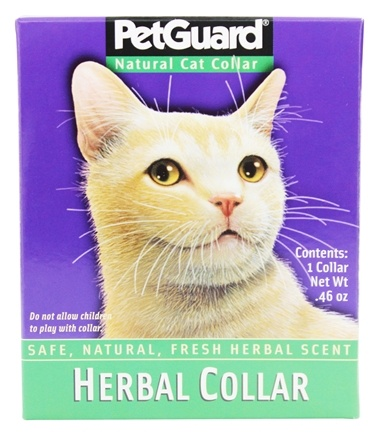 Zoom View - Natural Herbal Cat Collar