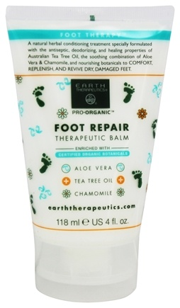 Earth Therapeutics - Foot Repair Therapeutic Balm - 4 oz.