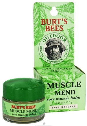 DROPPED: Burt's Bees - Muscle Mend Sore Muscle Balm - 0.45 oz.