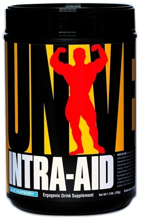 DROPPED: Universal Nutrition - Intra-Aid Ergogenic Intra-Workout Drink Blue Raspberry - 1.74 lbs. CLEARANCE PRICED