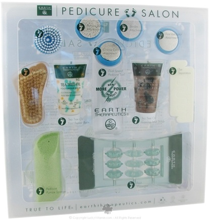 DROPPED: Earth Therapeutics - Pedicure Salon Professional Pedicure Set