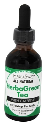 HerbaSway - HerbaGreen Tea with Caffeine - 2 oz.