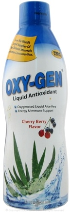 DROPPED: TRC Nutritional Labs - Oxy-Gen Liquid Antioxidant Cherry Berry - 32 oz.