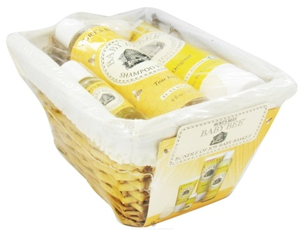 DROPPED: Burt's Bees - Baby Bee Bundle of Joy Baby Basket - 1 Gift Set CLEARANCE PRICED