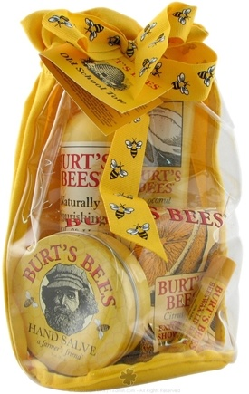 DROPPED: Burt's Bees - Burt's Old School Tote - 1 Gift Set