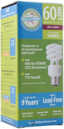 DROPPED: Ribbon Nutrition - 60 Watt Equivalent Day Light Bulb