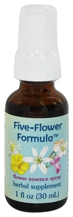 DROPPED: Flower Essence Services - Five-Flower Formula Organic Stress Relief Spray - 1 oz.