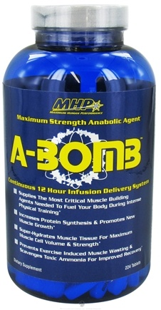 DROPPED: MHP - A-Bomb Maximum Strength Anabolic Agent - 224 Tablets