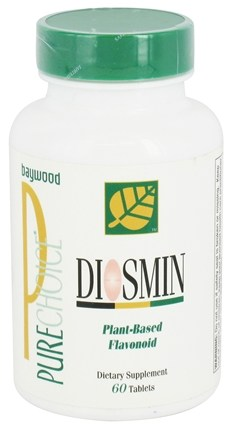 Baywood International - PureChoice Diosmin Plant-Based Flavonoid 500 mg. - 60 Tablets