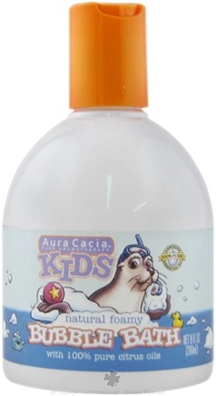 DROPPED: Aura Cacia - Kids Natural Foamy Bubble Bath - 9 oz.