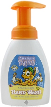 DROPPED: Aura Cacia - Kids Natural Foamy Hand Wash - 8 oz. CLEARANCE PRICED