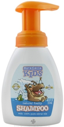 DROPPED: Aura Cacia - Kids Natural Foamy Shampoo - 8 oz.