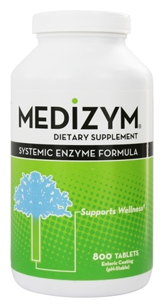 DROPPED: Naturally Vitamins - Medizym Systemic Enzyme Formula - 800 Tablets