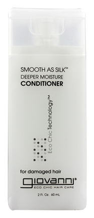 Giovanni - Conditioner Smooth As Silk Deeper Moisture For Damaged Hair Travel Size - 2 oz.