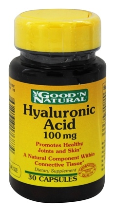 DROPPED: Good 'N Natural - Hyaluronic Acid 100 mg. - 30 Capsules