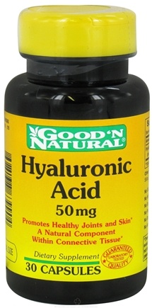 DROPPED: Good 'N Natural - Hyaluronic Acid 50 mg. - 30 Capsules