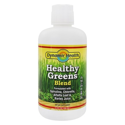 Zoom View - Healthy Greens Liquid
