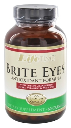 LifeTime Vitamins - Brite Eyes Eye Health Formula - 60 Capsules