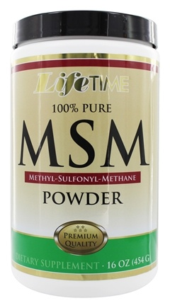 Zoom View - 100% Pure MSM Powder
